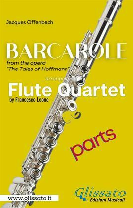 Barcarole - Soprano Flute Quartet (parts)