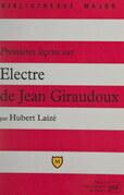 Premières leçons sur Électre de Jean Giraudoux