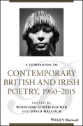 A Companion to Contemporary British and Irish Poetry, 1960 - 2015