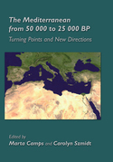 The Mediterranean from 50,000 to 25,000 BP