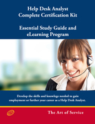 Help Desk Analyst Complete Certification Kit: You-Powered Help Desk Support - Essential Study Guide and eLearning Program