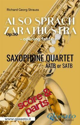 Also Sprach Zarathustra - Sax Quartet (parts&score)