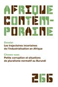 Afrique contemporaine n° 266