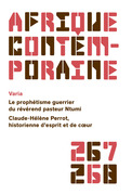 Afrique contemporaine n° 267-268