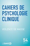 Cahiers de psychologie clinique n° 54