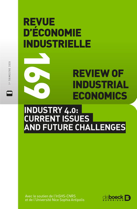 Revue d'économie industrielle n° 169