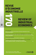 Revue d'économie industrielle n° 170