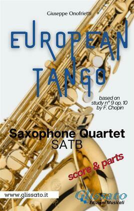 """European Tango"" for Saxophone Quartet"