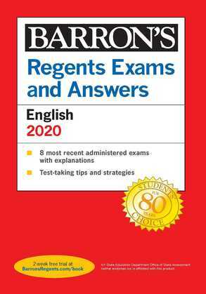 Regents Exams and Answers: English Revised Edition