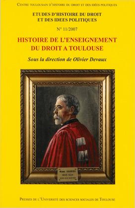 Histoire de l'enseignement du droit à Toulouse