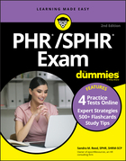 PHR/SPHR Exam For Dummies with Online Practice