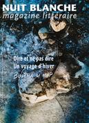 Nuit blanche, magazine littéraire. No. 161, Hiver 2021