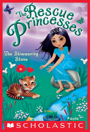 The Shimmering Stone (Rescue Princesses #8)