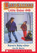 Karen's Baby-Sitter (Baby-Sitters Little Sister #46)
