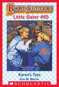 Karen's Toys (Baby-Sitters Little Sister #65)