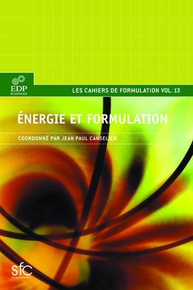 Energie et formulation