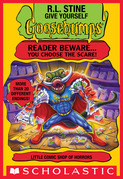 Little Comic Shop of Horrors (Give Yourself Goosebumps #17)