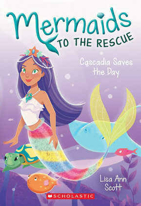 Cascadia Saves the Days (Mermaids to the Rescue #4)
