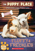 Fluffy & Freckles Special Edition (The Puppy Place #58)