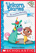 Bo and the Merbaby: A Branches Book (Unicorn Diaries #5)