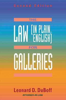 The Law (in Plain English) for Galleries