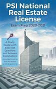 PSI National Real Estate License Exam Prep 2020-2021