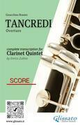 Tancredi - Clarinet Quintet (Score)