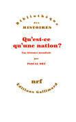 Qu'est-ce qu'une nation ? Une histoire mondiale