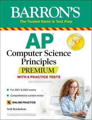 AP Computer Science Principles Premium with 6 Practice Tests