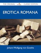 Erotica Romana - The Original Classic Edition