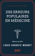 Des erreurs populaires en médecine