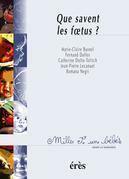 Que savent les foetus ? 1001 bb n°4