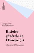 Histoire générale de l'Europe (3)