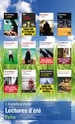 Extraits gratuits - Lectures d'été Folio 2015