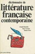 Dictionnaire de littérature française contemporaine