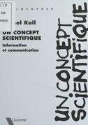 Un concept scientifique : La Théorie de l'information