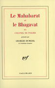 Le Mahabarat et le Bhagavat du colonel de Polier