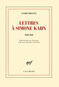 Lettres à Simone Kahn (1920-1960)