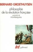 Philosophie de la Révolution française / Montesquieu