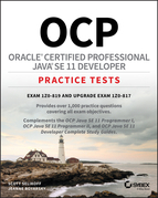 OCP Oracle Certified Professional Java SE 11 Developer Practice Tests