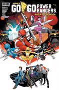 Saban's Go Go Power Rangers: Back to School #1