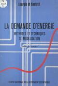 La demande d'énergie : méthodes et techniques de modélisation