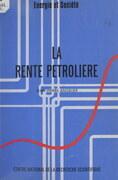 La rente pétrolière