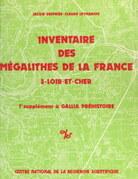 Inventaire des mégalithes de la France (3) : Loir-et-Cher