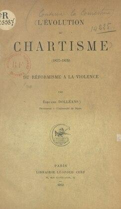 L'évolution du chartisme