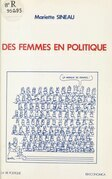 Des femmes en politique