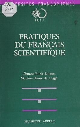 Pratiques du français scientifiques