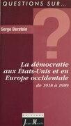 La démocratie aux États-Unis et en Europe occidentale de 1918 à 1989