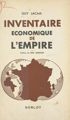 Inventaire économique de l'Empire