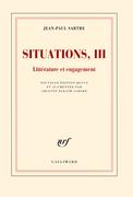 Situations (Tome 3) - Littérature et engagement (février 1947 - avril 1949)